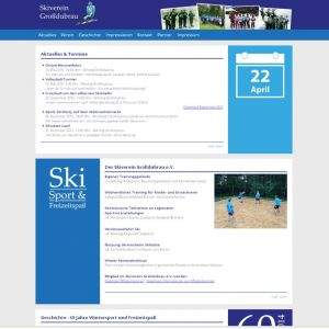 Webseite des Skiverein Großdubrau e.V.