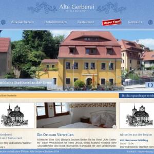 Startseit der Alten Gerberei Bautzen