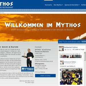 Startseite des MYTHOS
