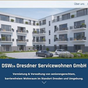 Startscreen der DSW24