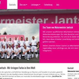 Malermeister Jantsch - Startseite