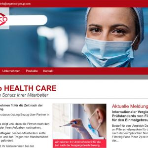 Startseite Orga.nico HEALTH CARE